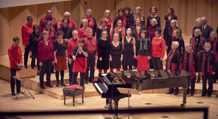 Freier Chor im Kulturpalast Dresden 2017, Foto: Jörg Simanowski